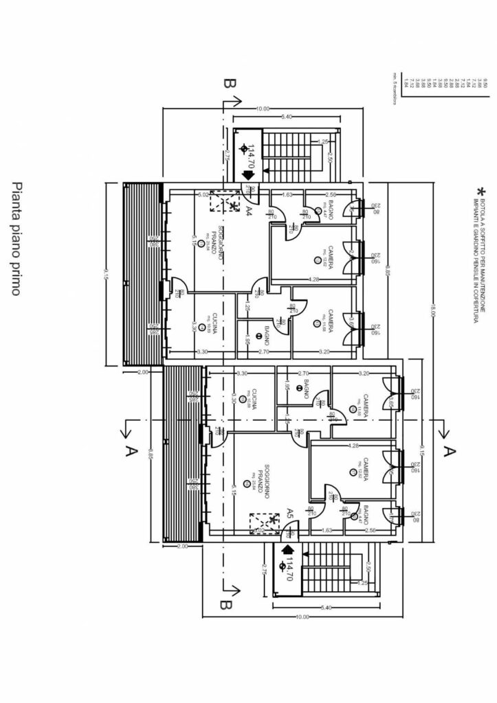 Casa Unika Attico planimetria 1